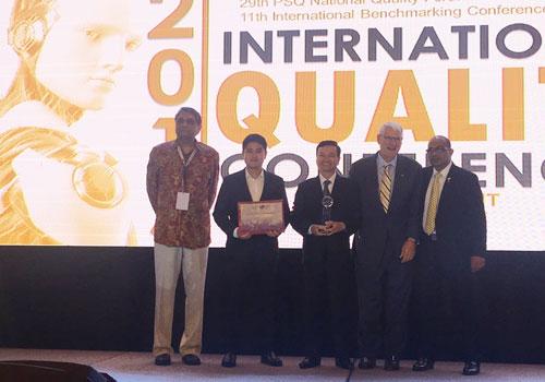 Tổng giám đốc Công ty Cổ phần Tôn Đông Á nhận Giải thưởng GPEA