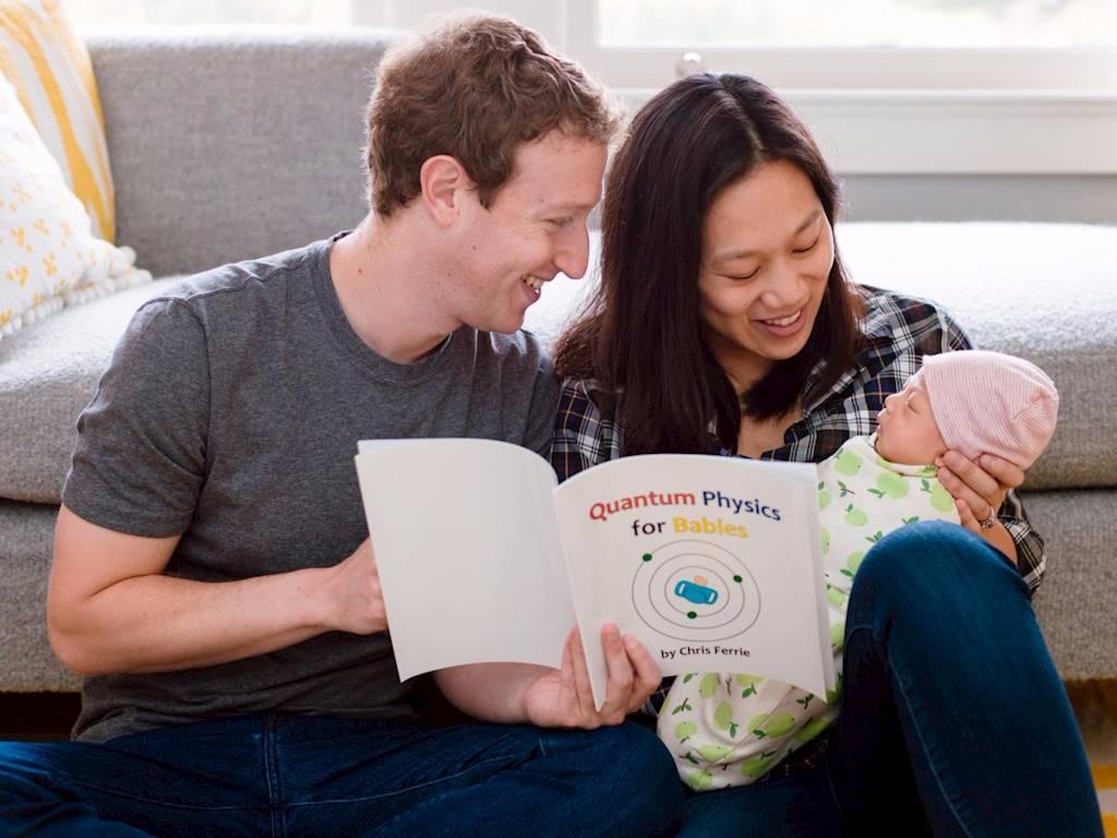 Gia đình nhỏ của ông chủ Facebook