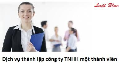Dịch vụ thành lập công ty TNHH một thành viên (nguồn internet)