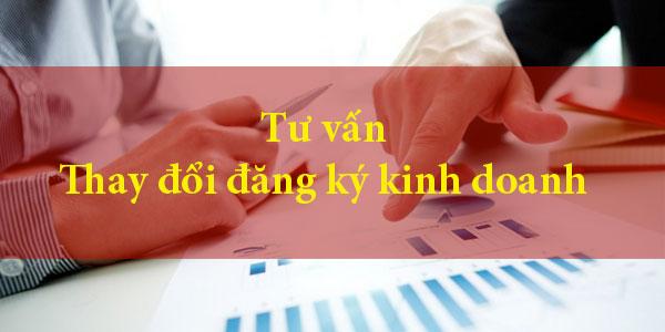 Tư vấn thay đổi đăng ký kinh doanh tại Nghệ An